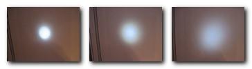 фокусировка луча в зависимости от типа светодиода