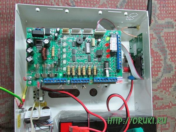 Установка Адаптера GSM в прибор А-6