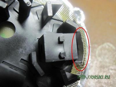 Защита фотодиода от засветки