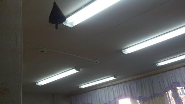 Светильники дающие ложные срабатывания ДИП