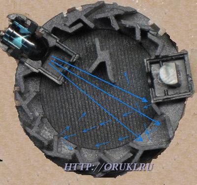 Оптическая камера ДИП без дыма