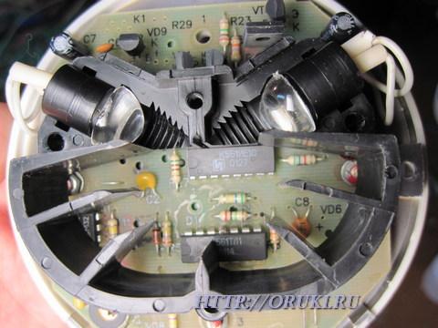 Дымовой датчик (оптическая камера)