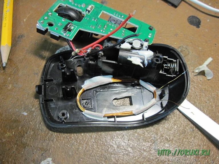 Окончательный вариант приемной катушки беспроводного зарядного устройства