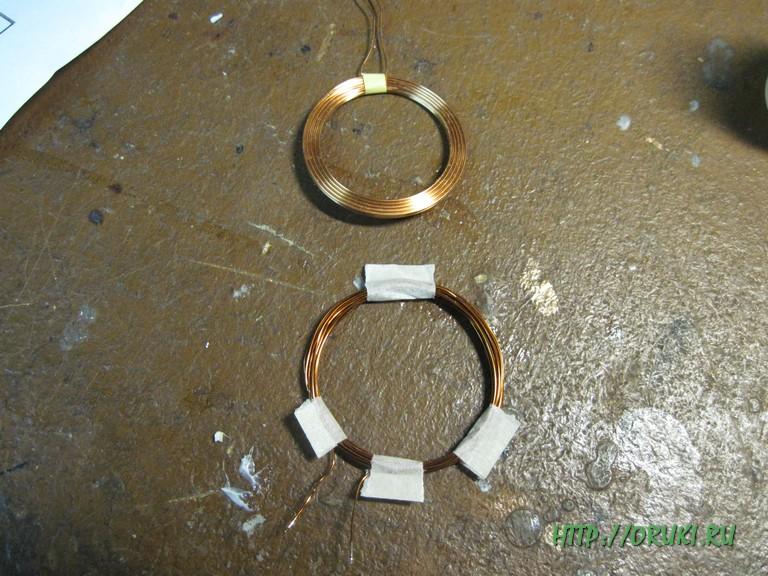 Катушка беспроводного зарядного устройства
