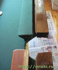 Вторая составляющая борта бильярдного стола