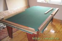 Сделать своими руками бильярдный стол