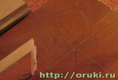 Разметка бильярдного стола