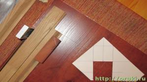 Шаблон лузы бильярдного стола