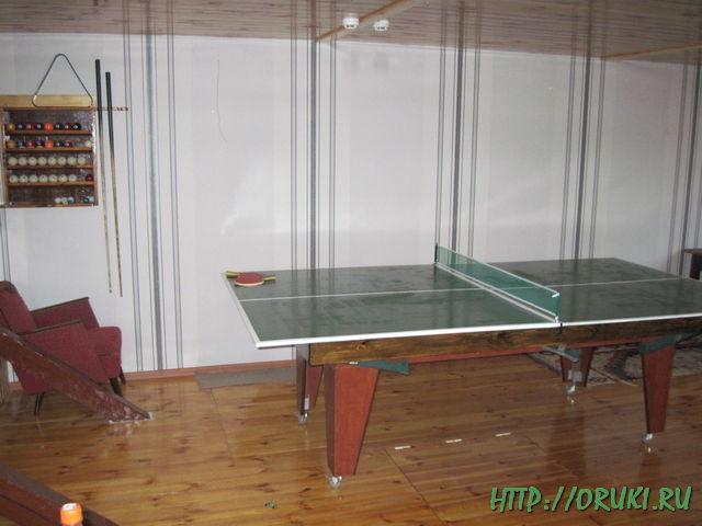 Теннисно-бильярдный стол