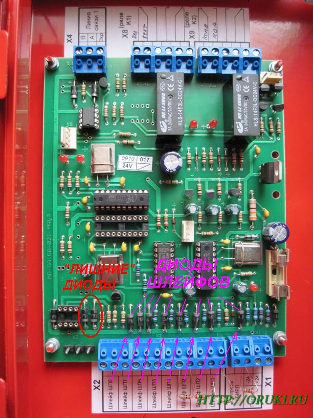 Замена защитных диодов в модуле БА-2 (БУСО)