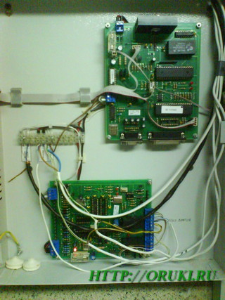 Внутренности модуля БИ-2 Спектрон