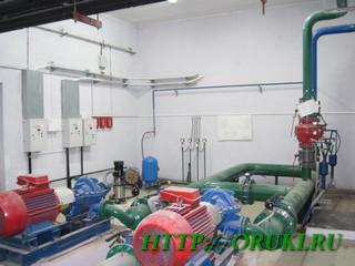 Модули Спектрона в станции водяного пожаротушения