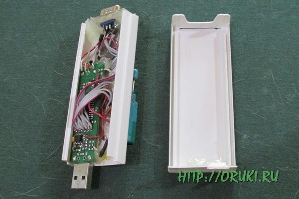 Почти готовый програматор IS-USB