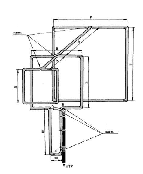 Схемы цифровой антенны