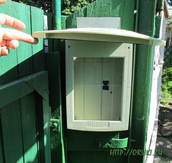 Ящик для почты своими руками